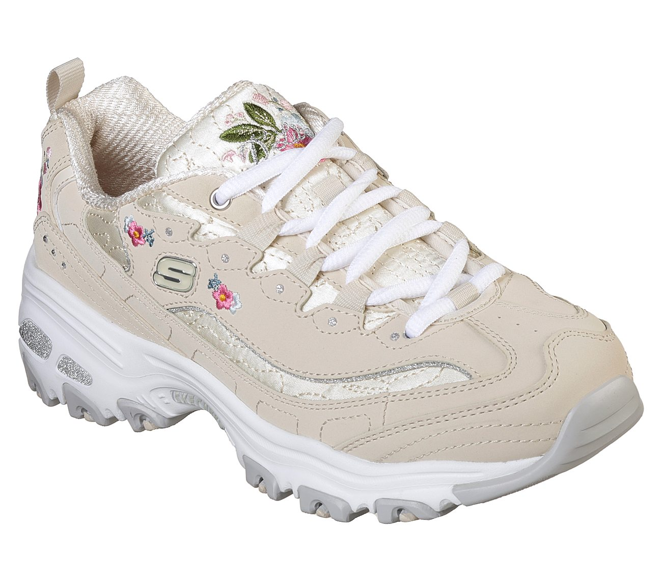 Skechers Sport Womens D'LITES BRIGHT BLOSSOMS Sneakers Damen Xd98p