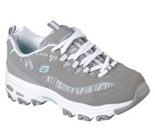 Skechers Sport Womens D'LITES INTERLUDE Sneakers Damen Schuhe Grau