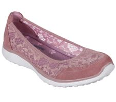 Skechers Sport Active Women MICROBURST SWEET BLOOM Ballerinas Damen Schuhe rosa