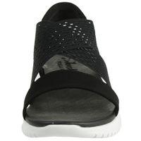 Skechers Cali ULTRA FLEX NEON STAR Sandalen Damen Schuhe Schwarz