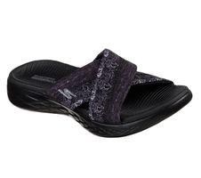 Skechers O-T-G Womens Sandals ON-THE-GO 600 MONARCH Sandalen Damen Schuhe Schwarz