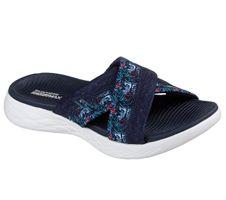 Skechers O-T-G Womens Sandals ON-THE-GO 600 MONARCH Sandalen Damen Schuhe Blau
