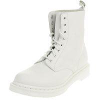 Dr. Martens 1460 MONO Virginia Damen Boots Stiefel weiss
