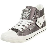 British Knights ROCO Metallic BK Damen Sneaker B43-3706-02 grau metallic Textil