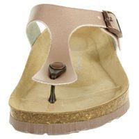 Rohde Alba Damen Zehentrenner Schuhe 5600 39 Kupfer