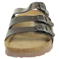 Rohde Alba Pantolette Damen Hausschuhe Sandale  5619 88 altsilber