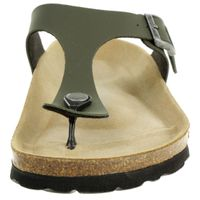 Rohde Riesa Damen Zehentrenner Schuhe 5628 61 Olive