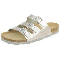 Rohde Alba Pantolette Damen Hausschuhe Sandale  5619 89 Silber