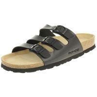 Rohde Alba Pantolette Damen Hausschuhe Sandale  5618 90 schwarz