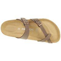 Rohde Alba Damen Zehentrenner Schuhe 5594 56 blau