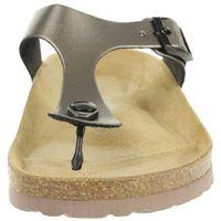 Rohde Alba Damen Zehentrenner Schuhe 5600 88 Altsilber