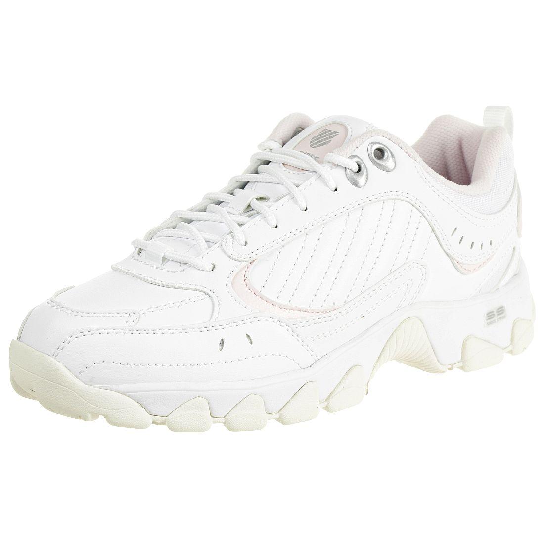 finest selection 6287a b20ff K-SWISS HS329 Sneaker Schuhe Damen 96354-162-M weiß Sneaker ...