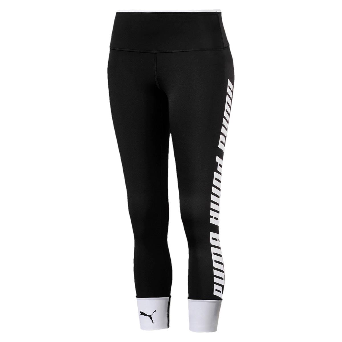 Hosen - PUMA Modern Sports FoldUp Leggings Pant Hose Pants Fitnesshose Schwarz 854243 XS  - Onlineshop Sneakerprofi