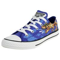 Converse CTAS OX Kinder Sneaker Chuck unisex KIDS Junior canvas Dino´s Beach Party 664247C