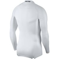 NIKE Herren Pro Dry Fit COMPRESSION Langarm Funktionsshirt weiss