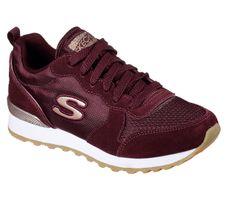Skecher Street OG 85 GOLD'N GURL Sneakers Frauen Rot