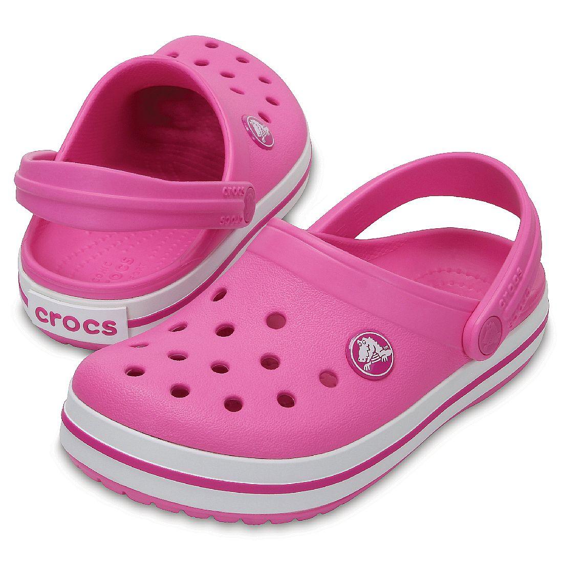 newest 04a21 fefc2 Crocs Crocband Clog K Mädchen Kinder Junior Clog relaxed fit ...