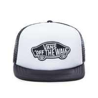 VANS Baseball Cap Classic Patch Trucker White-Black