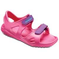 Crocs Swiftwater River Sandal K Kinder Junior Sandale Klett Paradise Pink 204988