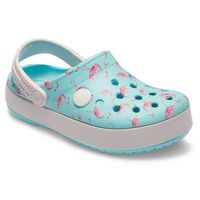 Crocs Crocband Multigraphic Clog K Kinder Junior Clog relaxed fit 205532 409