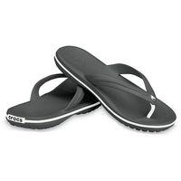Crocs Crocband Flip Unisex Sandale Zehentrenner Badelatsche 11033 schwarz