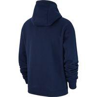 herren nike hoodie blau