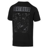 Puma BVB FtblCulture Tee T-Shirt Herren Borusse Dortmund schwarz 755787 02