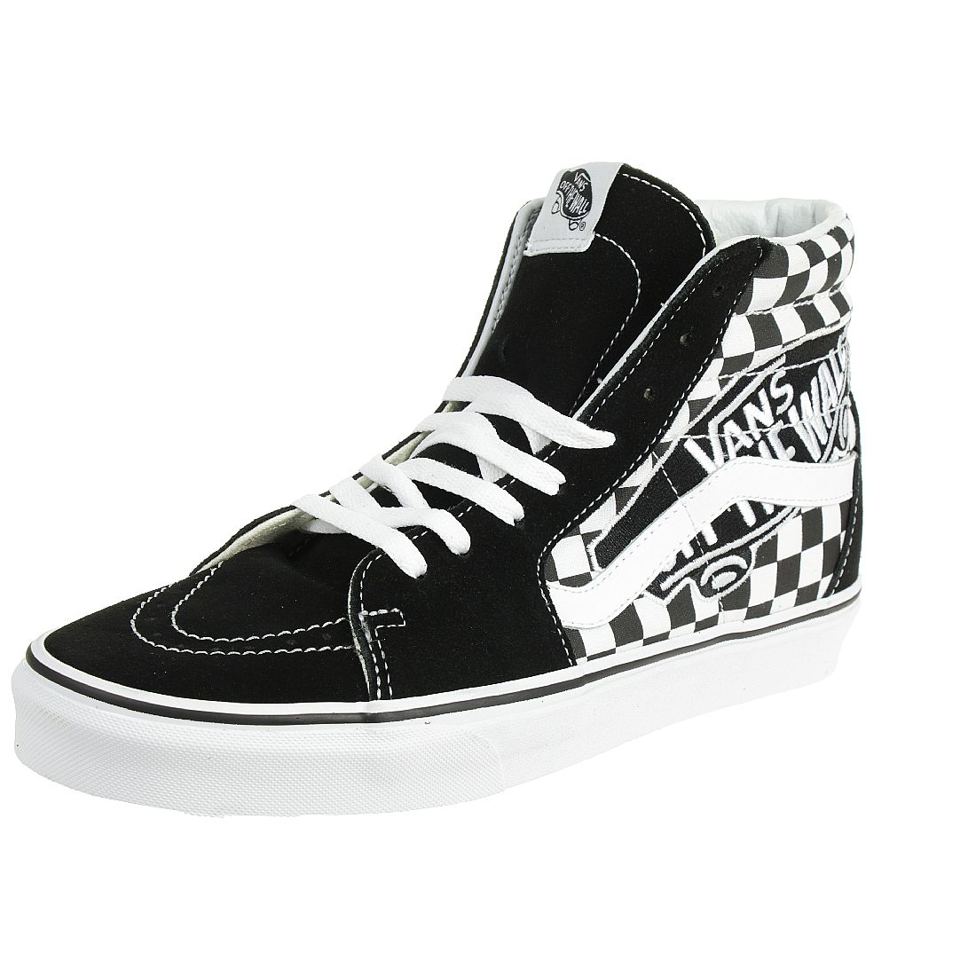 free shipping wide range top design VANS Sk8-Hi Vans Patch Sneaker VN0A38GEUPV1 checkerboard ...