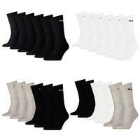 6 Paar Puma Socken Cush Crew Sportsocken Tennis Socken Gr. 35 - 46 Unisex