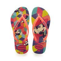 Havaianas Kids Disney Cool CF Sandale Zehentrenner Badelatsche Kinder 4130287 gelb