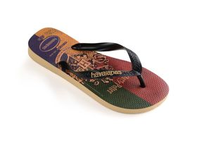 Havaianas Harry Potter FC Unisex Erwachsene Sandale Zehentrenner Badelatsche 4141763 Beige