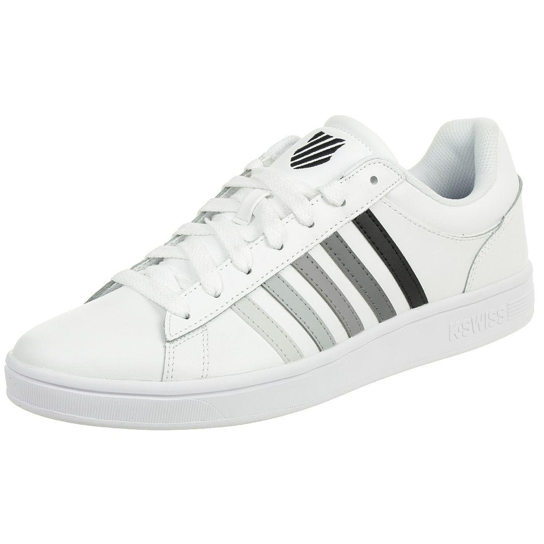 online store a165c 49f2d K-SWISS Court Winston Schuhe Herren Sneaker weiss 06154-191 ...