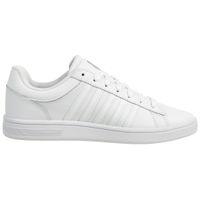 K-swiss Court Winston Herren Sneakers Turnschuhe 06154-169-m Weiß Blau Neu