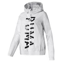 Puma Damen Be Bold Graphic Woven Jacket Jacke Zipper 518320
