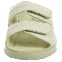 Rohde Damen Soltau-40 Pantoletten Sandale Hausschuhe 1940 Elfenbein