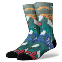 1 Paar Stance Classic Medium Cushion ALOHA LEAVES Herren Socken