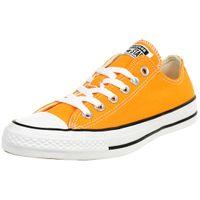 Converse CTAS OX Chuck Schuhe Textil Sneaker Orange Rind 164937C