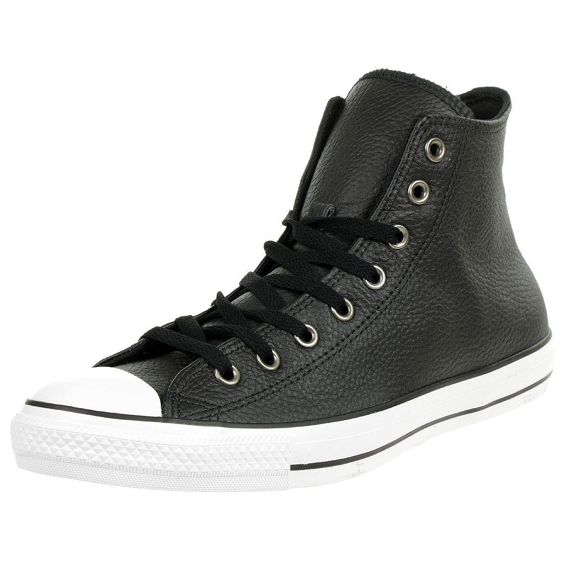 lowest price b5d8f 7d361 Converse CTAS HI Sneaker Chuck Unisex Leder schwarz 165191C ...