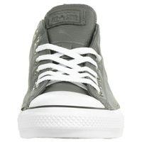 Converse CTAS OX Chuck Schuhe Leder Sneaker Carbon Grau 165193C