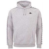 Kappa FINNUS Hooded Sweatshirt Herren grau 306014