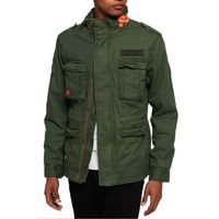 Superdry Rookie Mix Jacket Herren Jacke Khaki