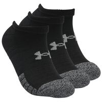 3 Paar Under Armour HeatGear No Show Sneaker Socken Unisex Kurzsocke