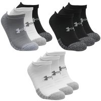 9 Paar Under Armour HeatGear No Show Sneaker Socken Unisex Kurzsocke