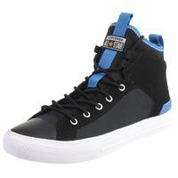 Converse CTAS ULTRA MID Chucks Schuhe Textil Sneaker Schwarz 165340C