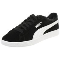 Puma Vikky v2 Fur Damen Sneaker Winterschuhe Schuhe gefüttert schwarz 369981