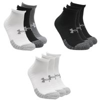 3 Paar Under Armour HeatGear Lo Cut Sneaker Socken Unisex Kurzsocke