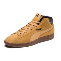 Puma Smash v2 Mid WTR Unisex Sneaker Schuh braun gefüttert 366810 03