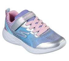 Skechers Girls GO RUN 600 RADIANT RUNNER SNEAKERS Kids Silber