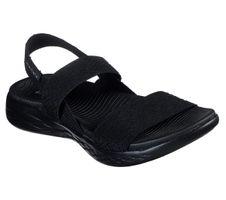 Skechers O-T-G Womens Sandals ON-THE-GO 600 GIRLS TRIP Sandalen Women Schwarz