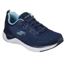 Skechers Sport Womens SOLAR FUSE COSMIC VIEW Sneakers Women Blau